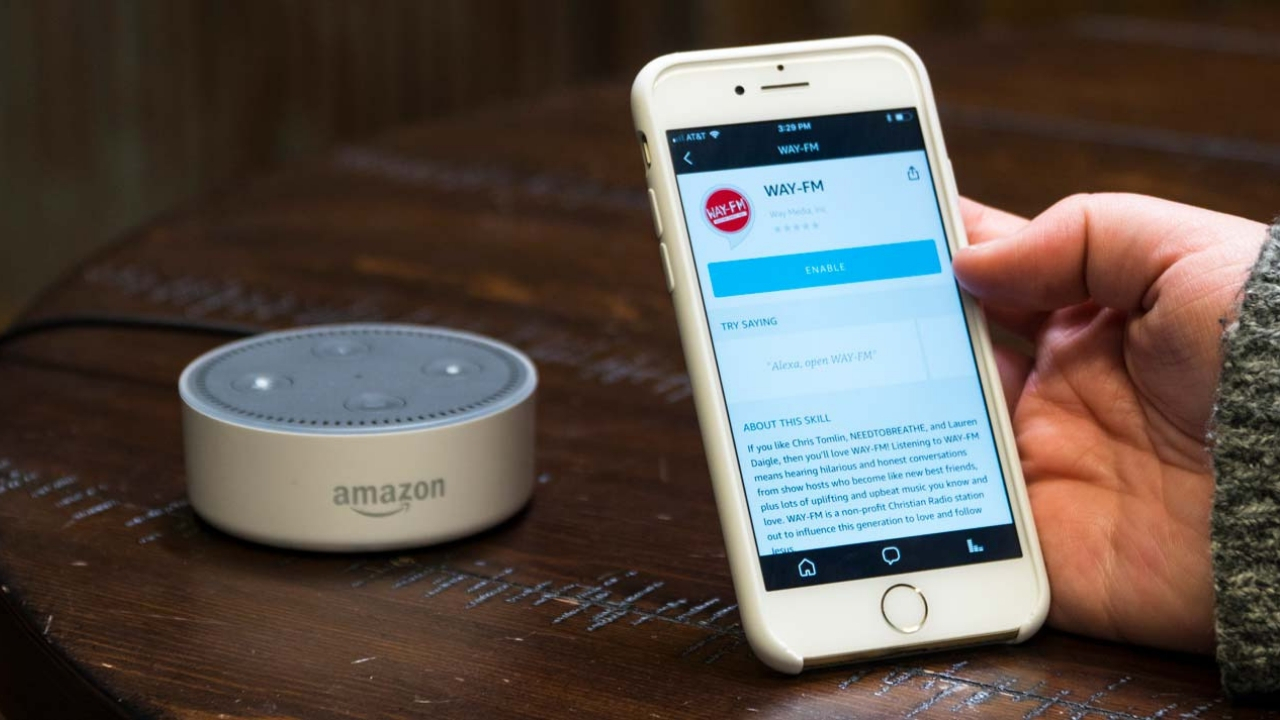 Stream WAY-FM on Your Amazon Echo!